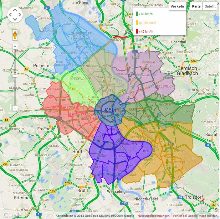 köln stadtteile karte ✖ karte Archive | Kölner Stadtteile | 86 Veedel